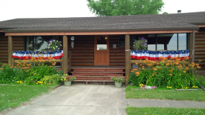log cabin 4th of july