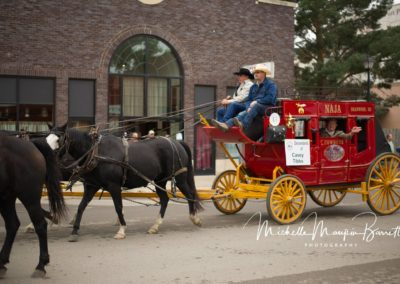 Shriners stagecoach