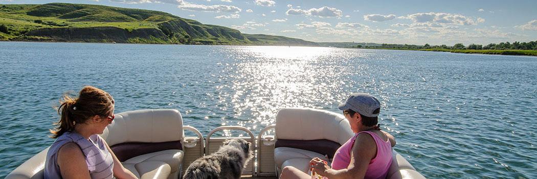Explore beautiful Lake Sharpe