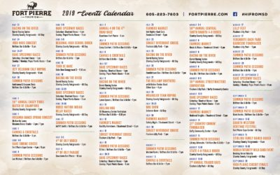 2019 Fort Pierre Calendar of Events